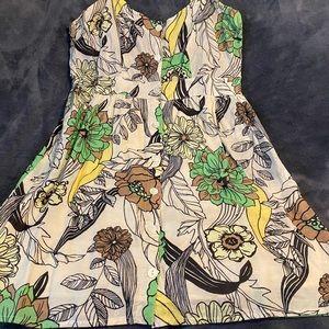 Floral print sundress